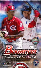 2018 Bowman Baseball Jumbo HTA Box