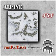 4x4 'Alpine' F.A.T. Mat Gaming Mat