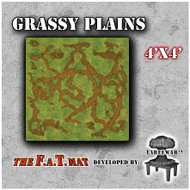 4x4 'Grassy Plains' F.A.T. Mat Gaming Mat