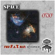 4x4 'Space' F.A.T. Mat Gaming Mat