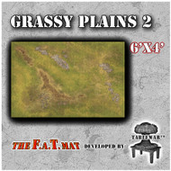 6x4 'Grassy Plains 2' F.A.T. Mat Gaming Mat