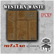3x3 'Western Waste' F.A.T. Mat Gaming Mat