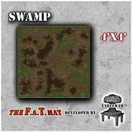 4x4 'Swamp' F.A.T. Mat Gaming Mat