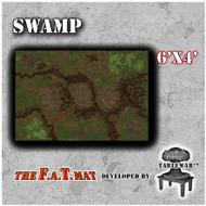 6x4 'Swamp' F.A.T. Mat Gaming Mat