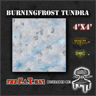 4x4 'Burningfrost Tundra' Privateer Press branded F.A.T. Mat Gaming Mat