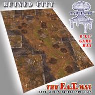 6x4 'Ruined City' F.A.T. Mat Gaming Mat