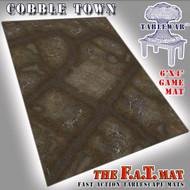 6x4 'Cobble Town' F.A.T. Mat Gaming Mat