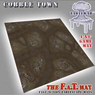 4x4 'Cobble Town' F.A.T. Mat Gaming Mat