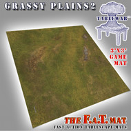 3x3 'Grassy Plains 2' F.A.T. Mat Gaming Mat
