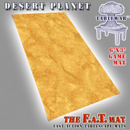 6x3 'Desert Planet' F.A.T. Mat Gaming Mat