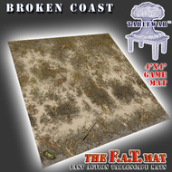 4x4 'Broken Coast' Privateer Press branded F.A.T. Mat