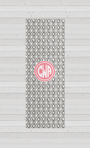 Yoga Mats - Ikat Gray