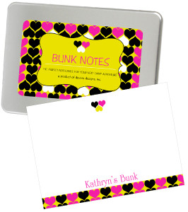 Bunk Notes-Hearts