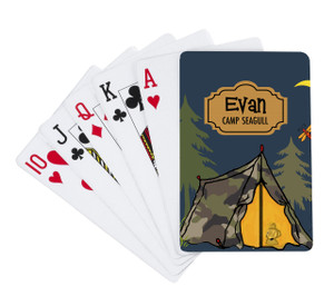 Playing Cards-Tent