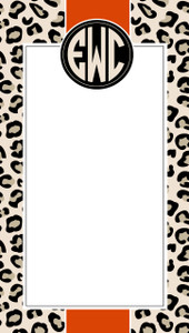 Nimble Notes- Leopard Stripe