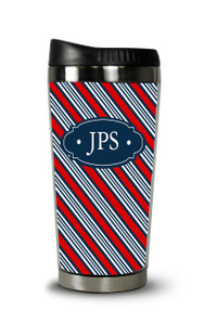 Personalized Travel Tumbler- American Tie