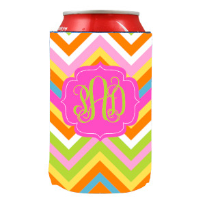 Can Koozie-Summer Chevron