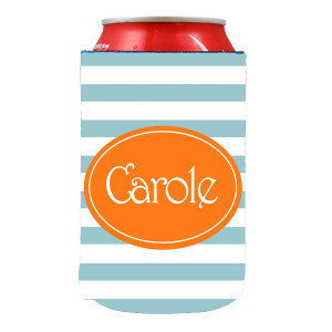 Can Koozie-Beach Stripes