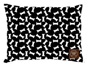 Dog Bed -JP-Bones Black