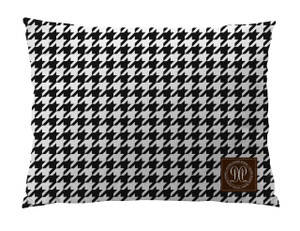 Dog Bed -JP-Houndstooth Black