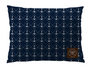 Dog Bed -JP-Navy Nautical