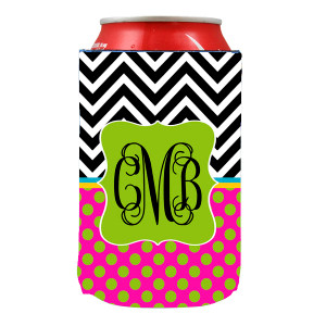 Can Koozie-Chevron Hype