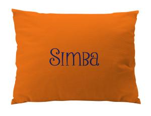 Dog Bed-Orange- Peanut Smoothie