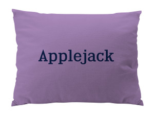 Dog Bed-Lilac-Kingsbridge-Name