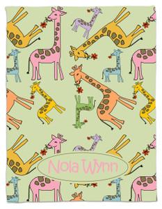 Blanket- Giraffe