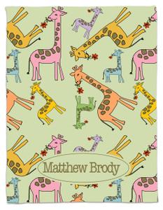 Blanket- Giraffe Boy