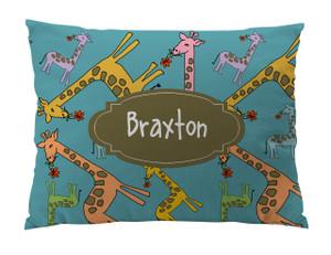 Floor Pillow- Giraffes