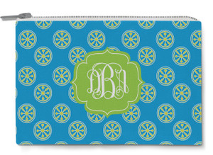 Accessory Zip Pouch- Island Wheels