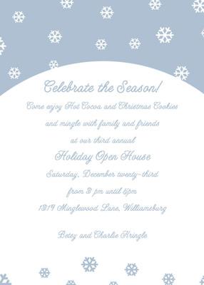 Invitation-Celebrate the Season