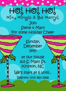 Invitation- Holiday Martinis 2
