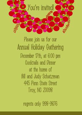 Invitation- Wreath 2