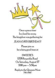 Invitation-Elizabeth Princess
