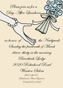 Invitation-Bouquet Toss