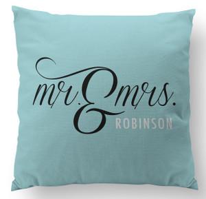 Pillow-Mr. and Mrs. Ocean