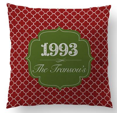 Pillows- Cranberry Clover