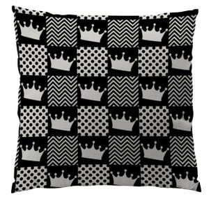 Pillow- Black Crown