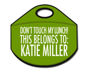 Lunch Tote- Don't Touch My Lunch-Green II