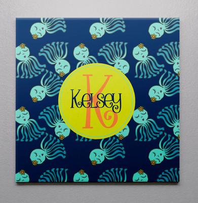 Wall Canvas Art- Sassy Octopus
