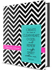Custom Journal-Clean Heart