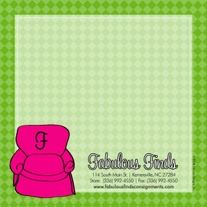 Scribble Square - The Pink Seat