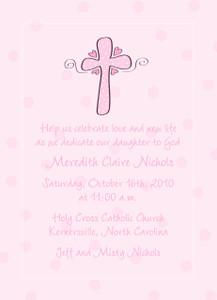 Invitation-Cross