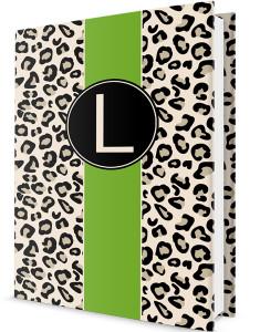 Custom Journal-Leopard Pea Stripe