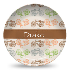 Microwave Safe Dinnerware Plate-Bike