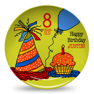 Microwave Safe Dinnerware Plate-Birthday Buddy