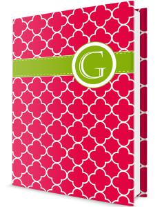 Custom Journal-Red Clover