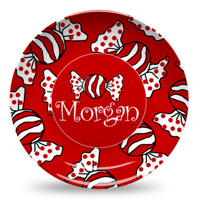 Microwave Safe Dinnerware Plate-Peppermint Candy